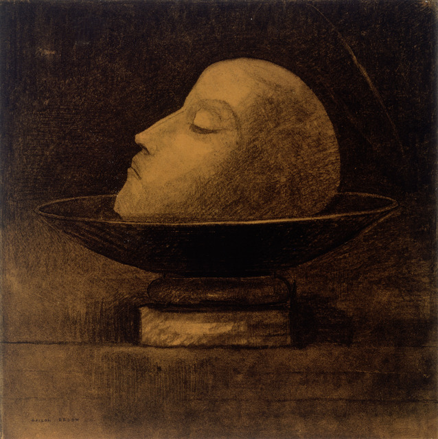 , 'Martyr ou Tête de martyr sur une coupe ou Saint Jean (Martyr, or Head of a Martyr on a Dish, or Saint John),' 1877, Fondation Beyeler