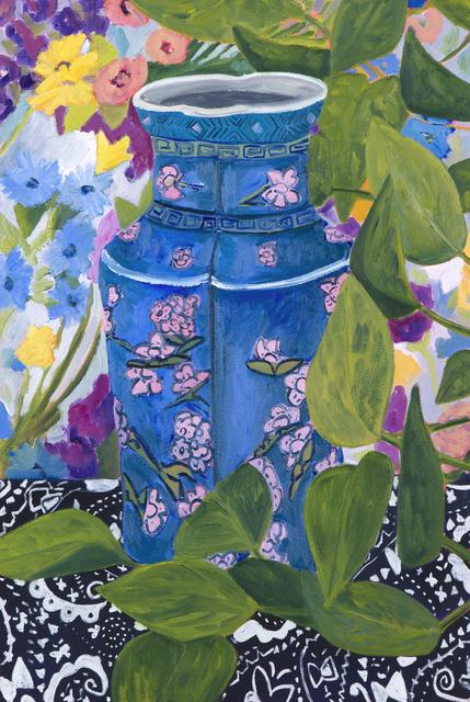 , 'Blue Vase,' 2017, parts gallery