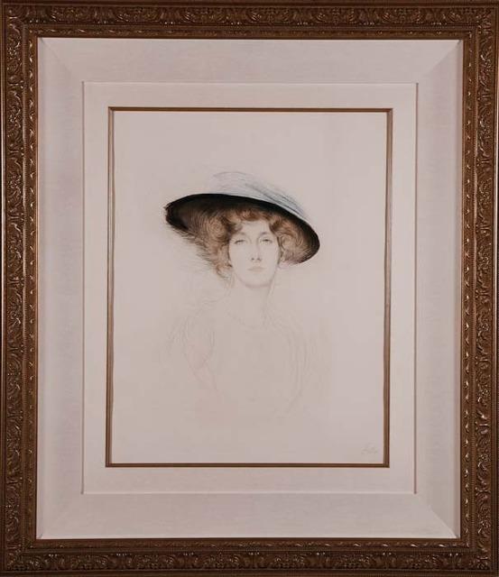 , 'Le Chapeau a Plume,' ca. 1898, Contessa Gallery