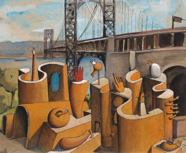 , 'Proyecto para Monumento IV con Puente,' 1972, Museo Gurvich