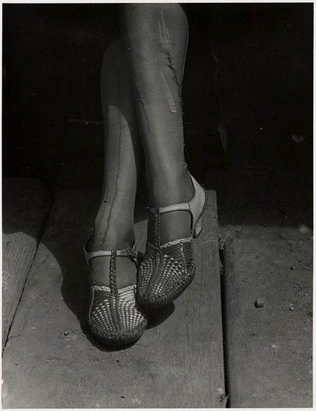 , 'Mended Stockings, Stenographer, San Francisco,' , Alan Klotz Gallery