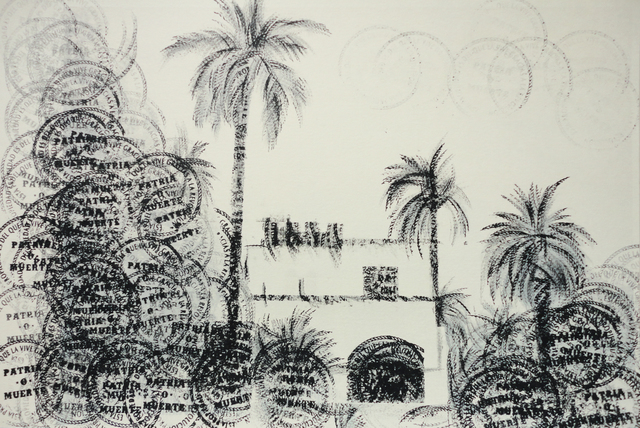 , 'This is your house Fidel,' 2012, Galerie Crone