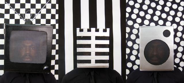 , 'Static Distortion Interference,' 2011, Galerie Anne de Villepoix