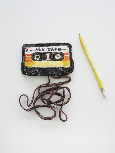, 'Mixed Tape and Pencil,' 2015, V1 Gallery