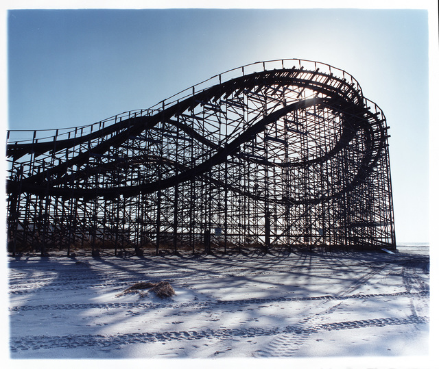 , 'Beached Roller Coaster,' 2013, Bleach Box