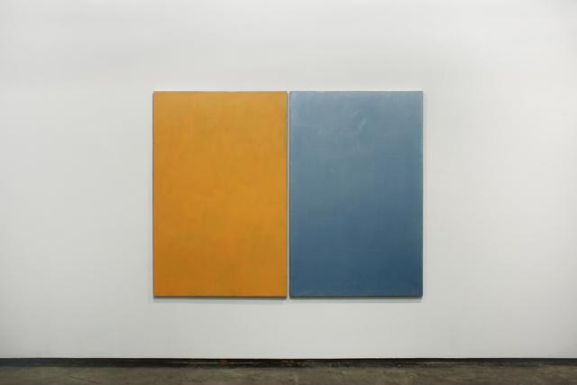 , 'Amarelho e azul cintilante (Yellow and sparkling blue),' 2016, Josée Bienvenu