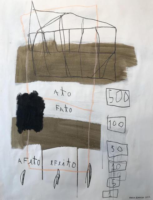 Marcio Almeida, 'S/ titulo', 2012, samba arte contemporânea