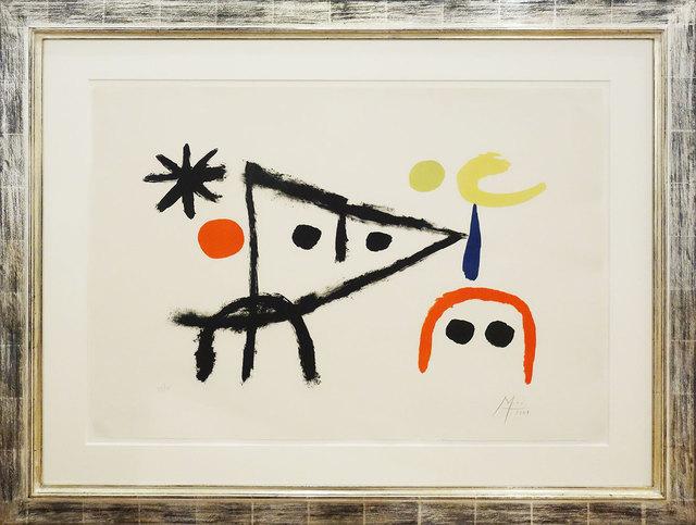 Joan Miró, 'Le petit chat au clair de la lune - El Gatito - Das Kätzchen', 1951, Galerie Kellermann