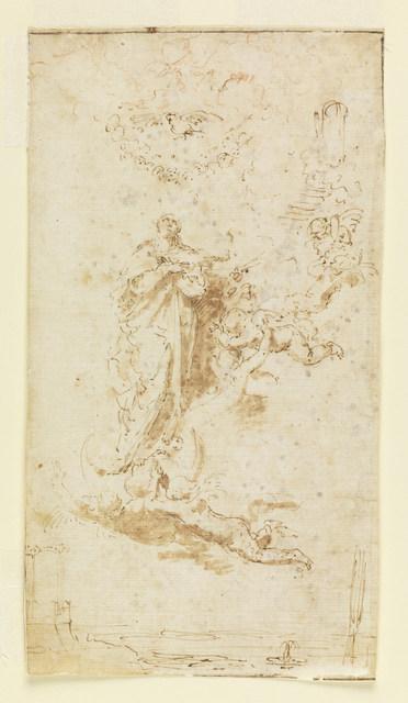 Jusepe de Ribera, 'The Immaculate Conception', ca. 1640, Cooper Hewitt, Smithsonian Design Museum
