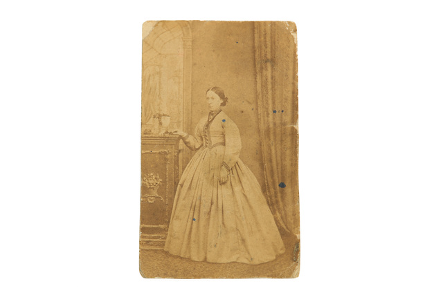 'A Selection Of 19Th Century Vernacular Photographs', Including a selection of early Cartes Des Visite, cabinet cards and loose photographs, some examples signed by sitters, together with photogravures of St Johns Oxford and Queens college Cambridge, Chiswick Auctions