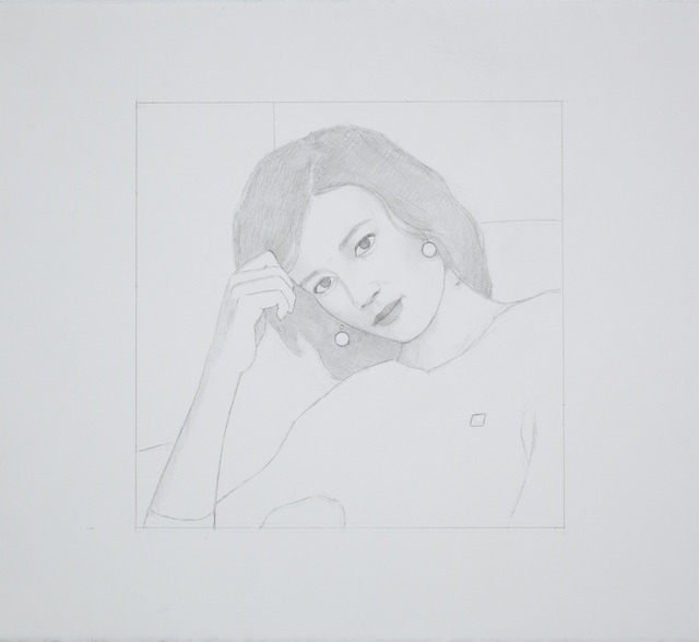 , 'Untitled (Small Portrait),' 2012, Andréhn-Schiptjenko