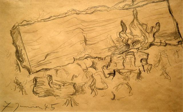 Pablo Picasso, 'Fireplace Study', 1945, Spalding Nix Fine Art