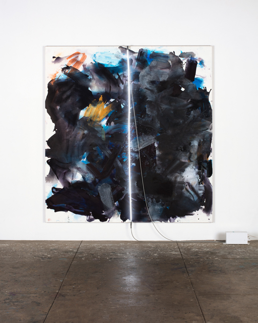 , 'fat night,' 2015, David Kordansky Gallery