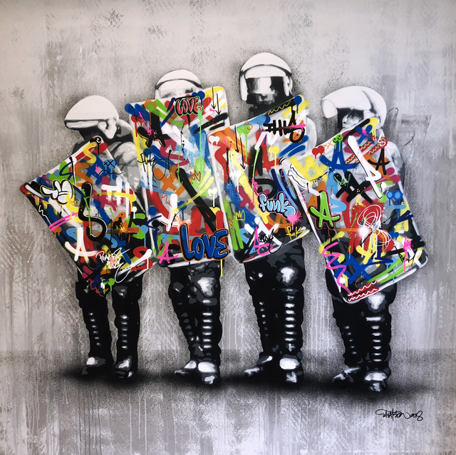 , 'Lovecops - Remix,' 2018, NextStreet Gallery