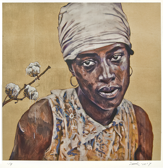 , 'Lady Cotton (Gold) SI,' , Gail Severn Gallery