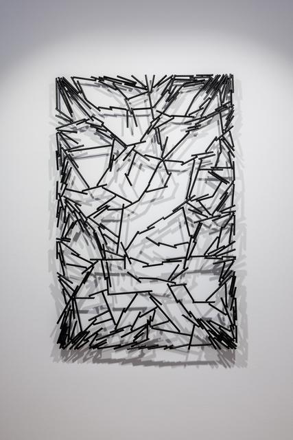 , 'Grid Nero 4,' 2018, Galerie Jahn