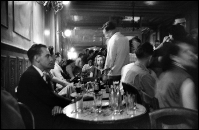 , 'Left Bank cafe.  Paris, France. ,' 1951, Magnum Photos