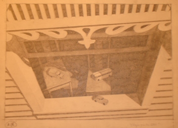 John Grazier, 'A Study for Playing in the Attic #18', Zenith Gallery