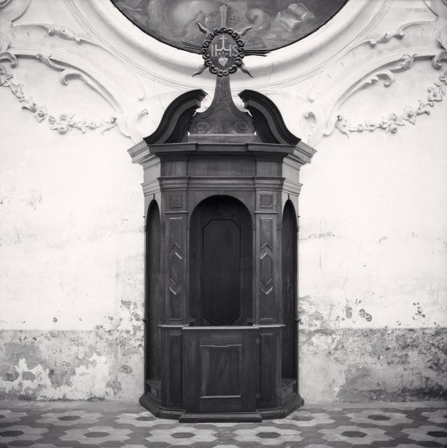 Michael Kenna, 'Confessional, Study 3, Chiesa di Sant'Andrea, Gualtieri, Reggio Emilia, Italy', 2008, Huxley-Parlour