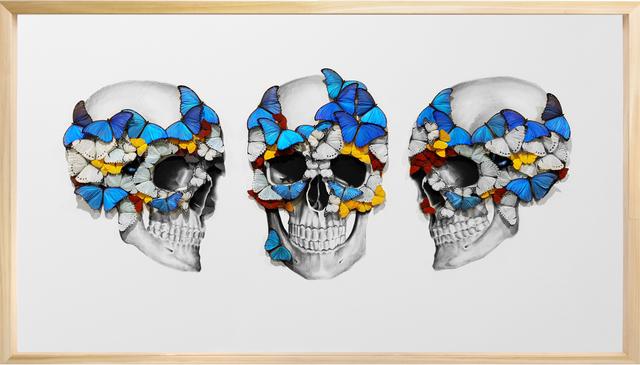 SN, 'Tripple Skull ', 2019, Eden Fine Art