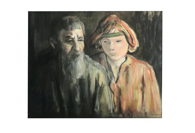 Jacob Kramer, 'Russian Peasants', Chiswick Auctions