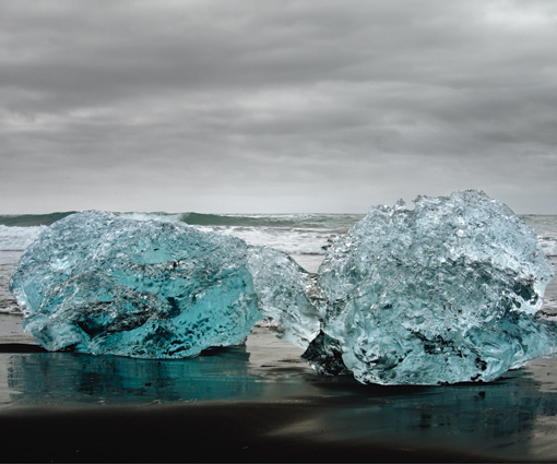 , 'Luminous Icescape No.2,' 2013, DELAHUNTY