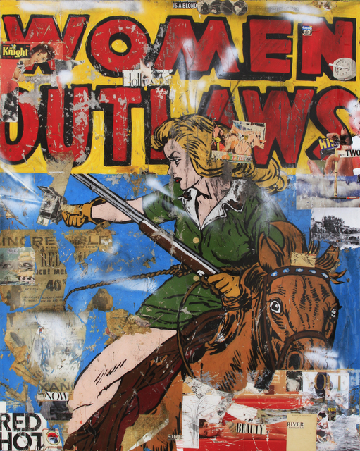 , 'Woman Outlaws,' 2017, William Turner Gallery