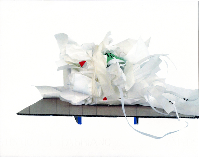 Maria Elena González, 'Garbage SC3', 2018, Photography, Inkjet, graphite, prisma on Fabriano, Bronx Museum of the Arts Benefit Auction