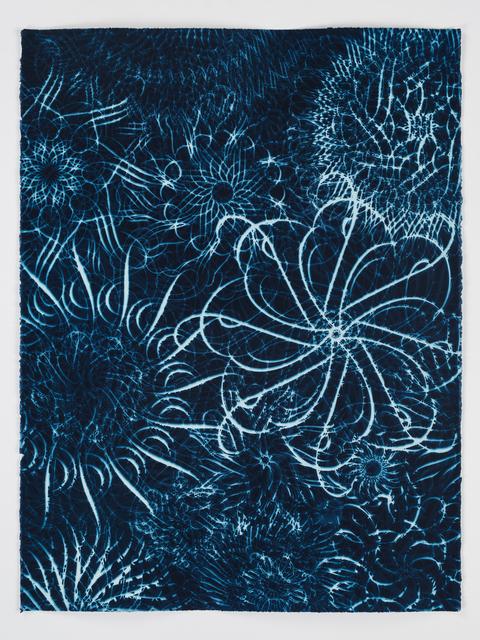 , 'Dark Energy Cyanotype 33,' 2015, Quint Gallery