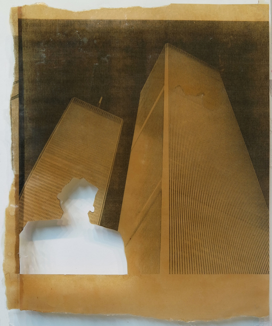 , 'In Memory of Tseng Kwong Chi (detail),' 1991, Guggenheim Museum