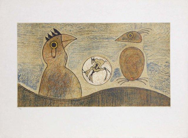 Max Ernst, 'Oiseaux souterraines', 1975, Heritage Auctions
