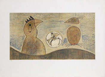 Max Ernst, 'Oiseaux souterraines,' 1975, Heritage Auctions: Holiday Prints & Multiples Sale