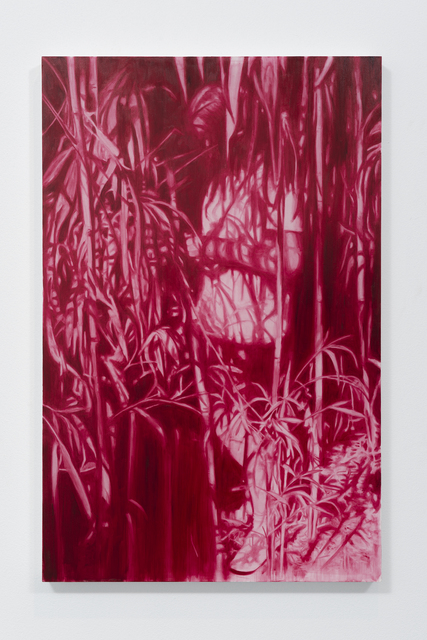 Ruby Swinney, 'Still I (Bamboo)', 2019, Painting, Oil on silk, WHATIFTHEWORLD