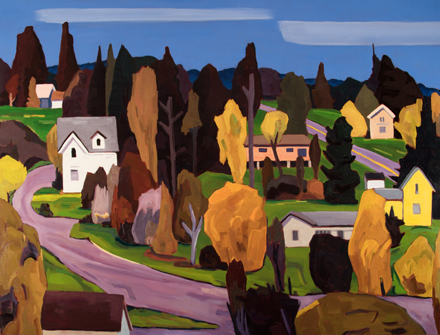 , 'Malcolm and Argyle, Friday Harbor,' 2018, WaterWorks Gallery