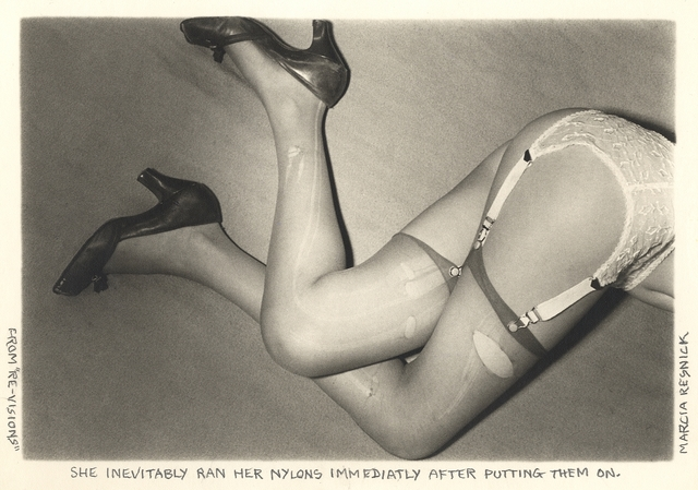 Marcia Resnick, 'She inevitably ran her nylons immediately after putting them on', 1978, Paul M. Hertzmann, Inc.