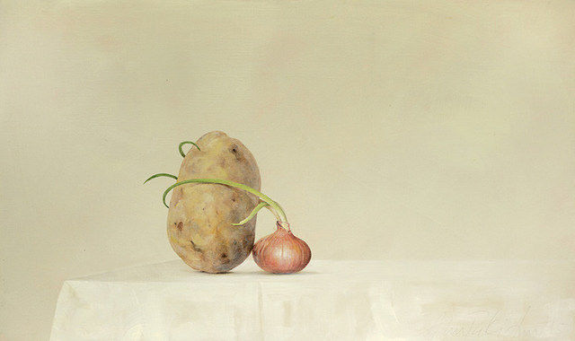 , 'Potato and Onion,' 2015, Galerie Huit