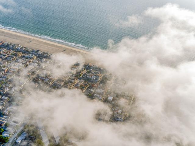 , 'LA Manhattan Beach Clouds,' 2014, Benrubi Gallery