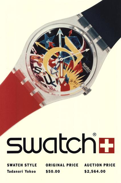 Tadanori Yokoo, 'Swatch: Tadanori Yokoo-Rorrim 5', 1980-2010, ArtWise