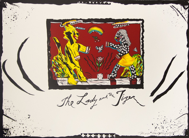 , 'The Lady and the Tiger,' 1985, Tamarind Institute