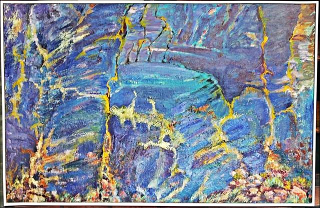 , 'Rockface Blue Mountain,' 2014, Alpha 137 Gallery