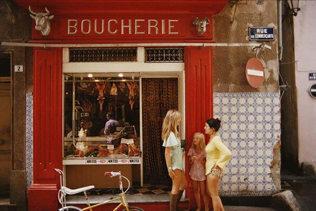 Slim Aarons, 'Boucherie St-Tropez', 1971, Undercurrent Projects