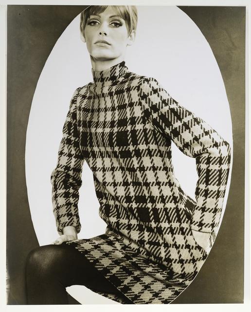 , 'Model in Oval Frame,' ca. 1958, Galerie Sophie Scheidecker