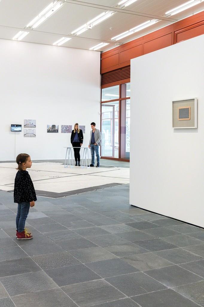 Exhibition View: Duet with Artist Photo: Johannes Stoll, © Belvedere, Vienna, 2017