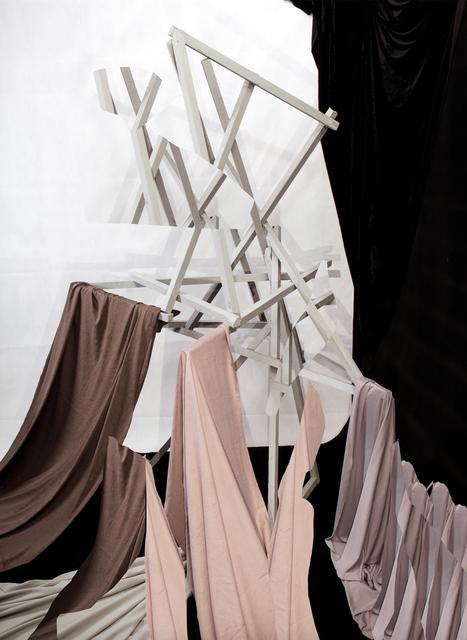 , 'Maquette with Drape,' 2014, Huxley-Parlour