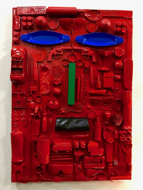 , 'Red Face,' 2019, design art concepts