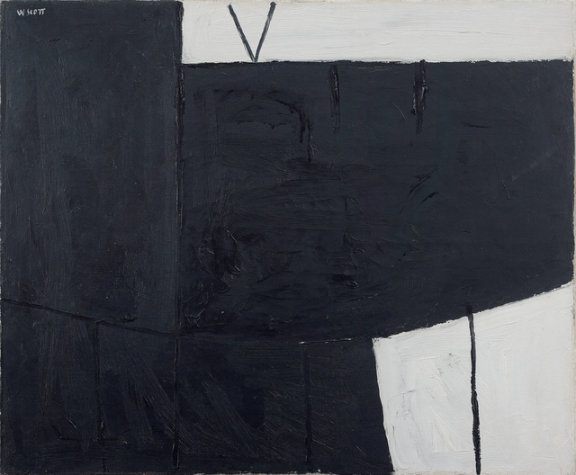 , 'Black & White Composition,' 1953, Osborne Samuel