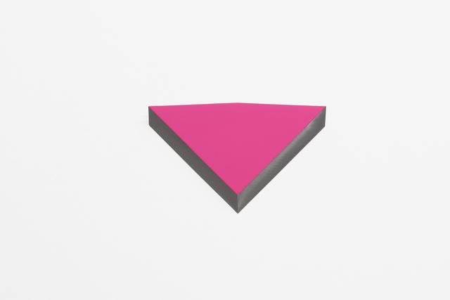 , 'O.T. pink fl,' 2013, Galeria Raquel Arnaud