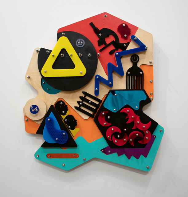 , 'Blockage (Blackamoors Collage #143),' 2018, LatchKey Gallery