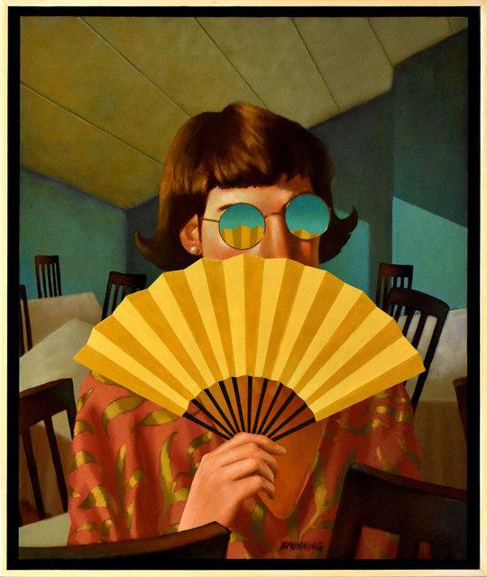 , 'Yellow Fan,' 2400, ARCADIA CONTEMPORARY