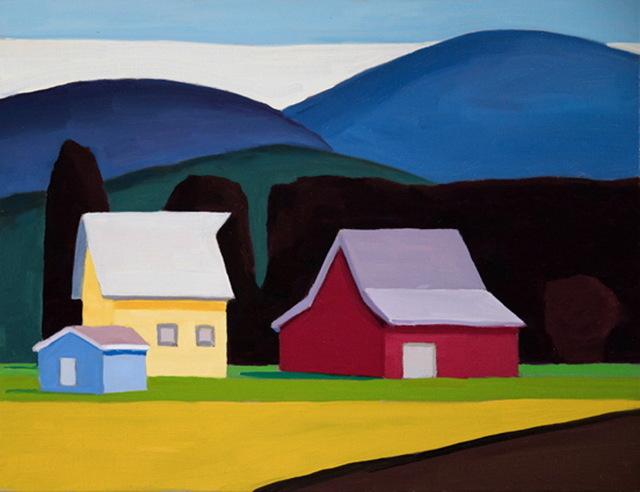 , 'Shed, Barn, Barn,' , WaterWorks Gallery
